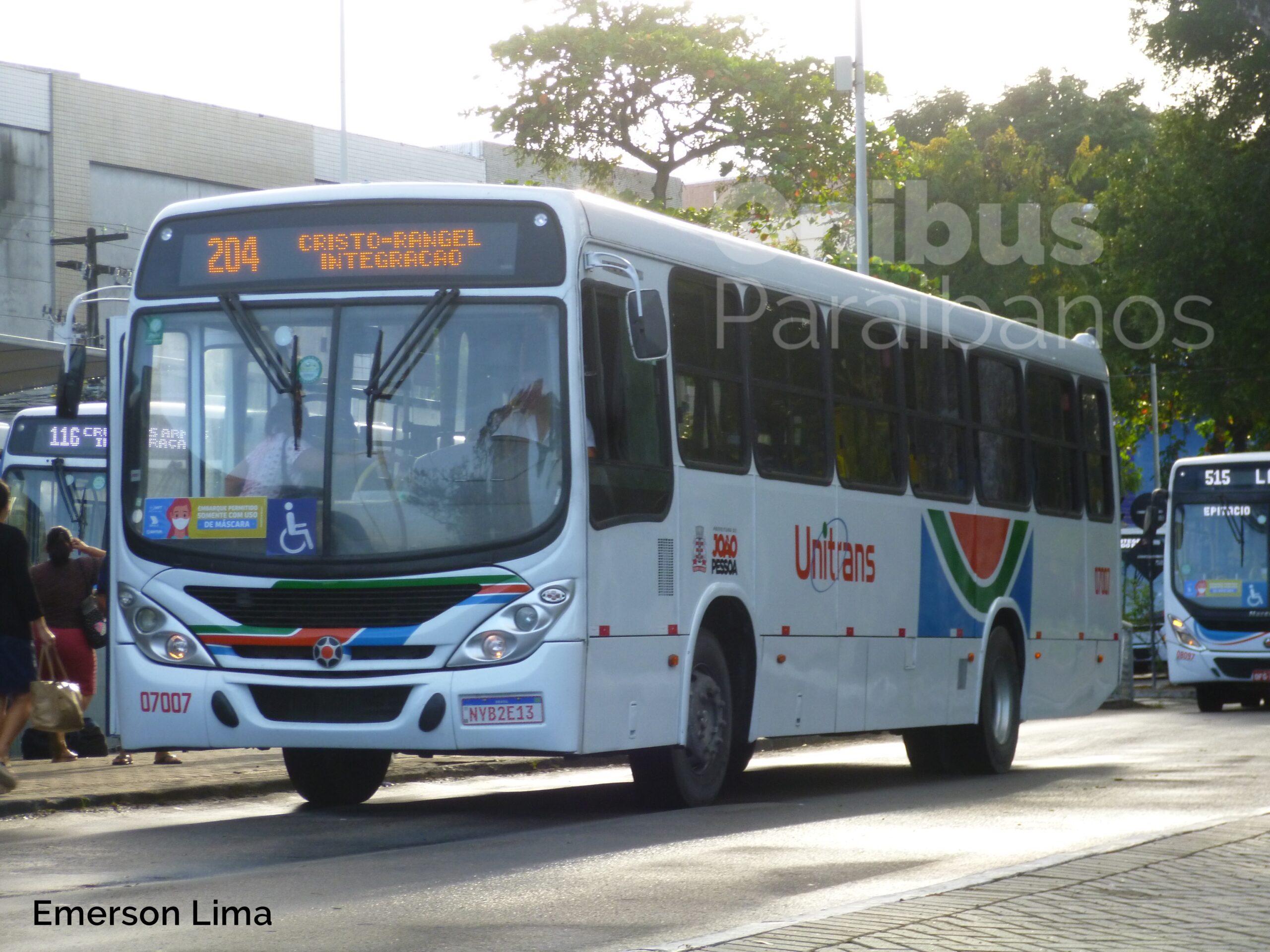 Ônibus Paraibanos na rua: olha só quem está de volta na Unitrans