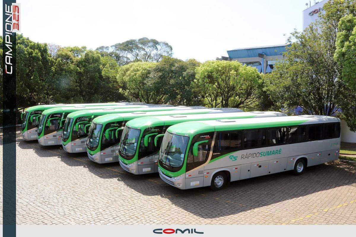 Empresa do Grupo Belarmino amplia a sua frota com novos ônibus Comil