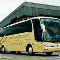 Marcopolo Paradiso Turis: o ônibus conceito que não vingou