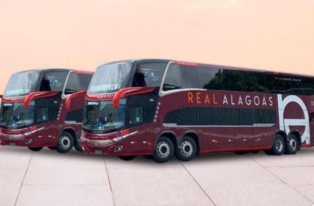 Real Alagoas vai ter ônibus Double Decker, com nova identidade visual