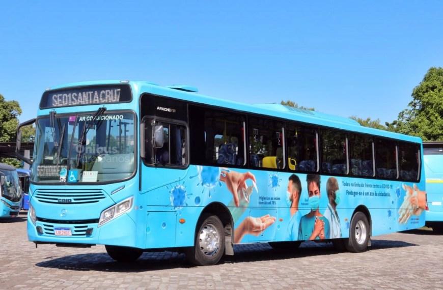 Faol informa retorno de ônibus que estavam a serviço do BRT no Rio de Janeiro