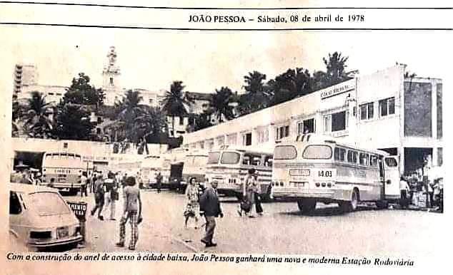 Uma parte da história contada em fotos: Antiga rodoviária de João Pessoa