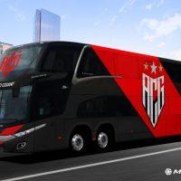 Atlético-GO adquire novo ônibus para o time profissional; confira detalhes sobre o veículo