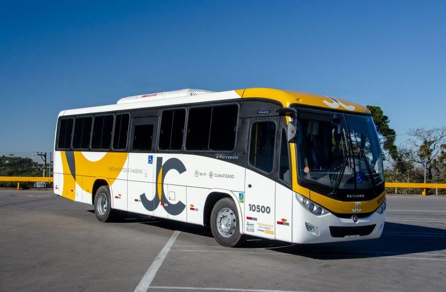 Empresa JC Fretamento e Turismo adquire cinco Ideale 800