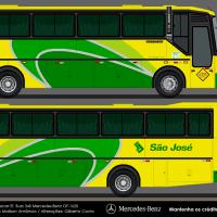 Busscar El Buss 340 - Empresa Viação São José 0807