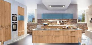 Which worktop fits a wooden kitchen?