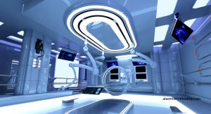Prostate Aid Germany: Illustration picture - high-tech operating room