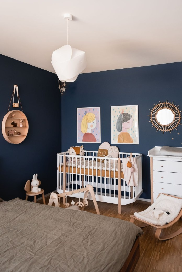 How we set up our baby room #baby room #kids room #interior