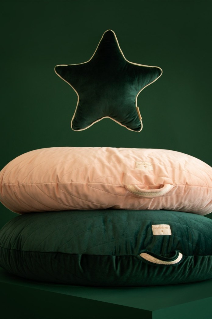 The new Eco Velvet collection from Nobodinoz for the children's room #nobodinoz #kinderzimmer #kidsroom