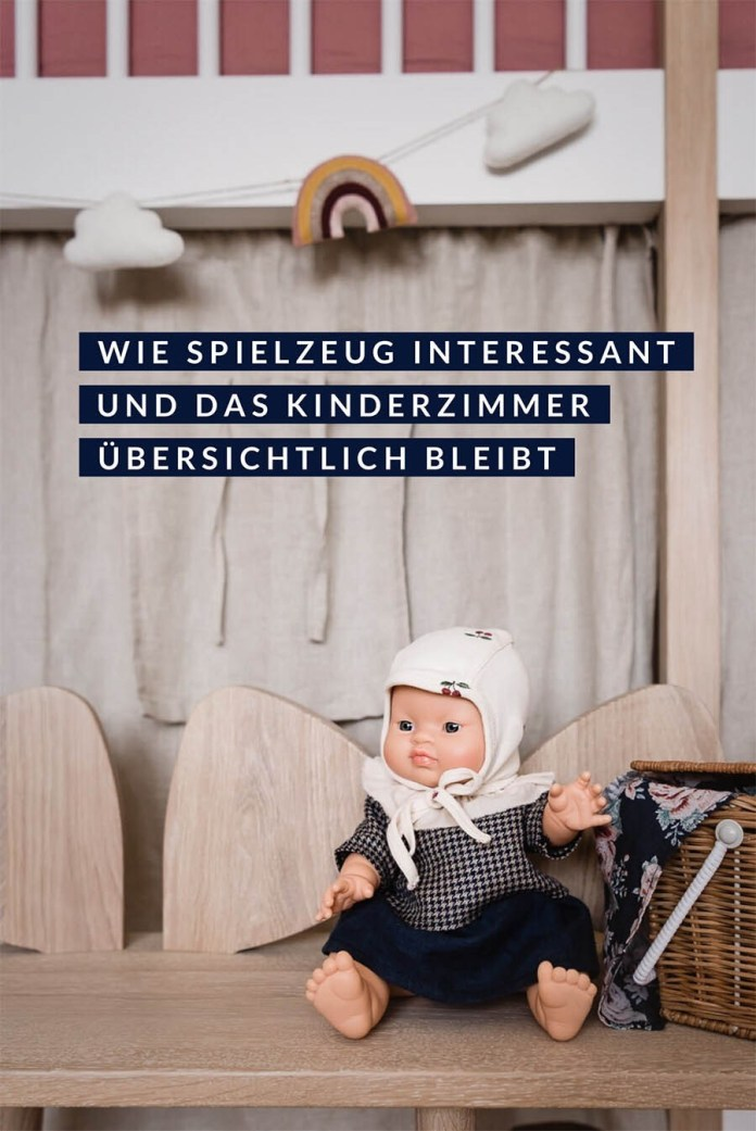 The exchange bazaar: This keeps the children's room clear and toys interesting #kinderzimmer #kidsroom #doll #spielzeug