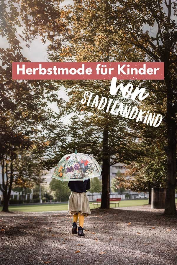 Minimalist autumn dresses and accessories for babies and children: A selection from Stadtlandkind #kindermode #babymode #herbstmode #herbst