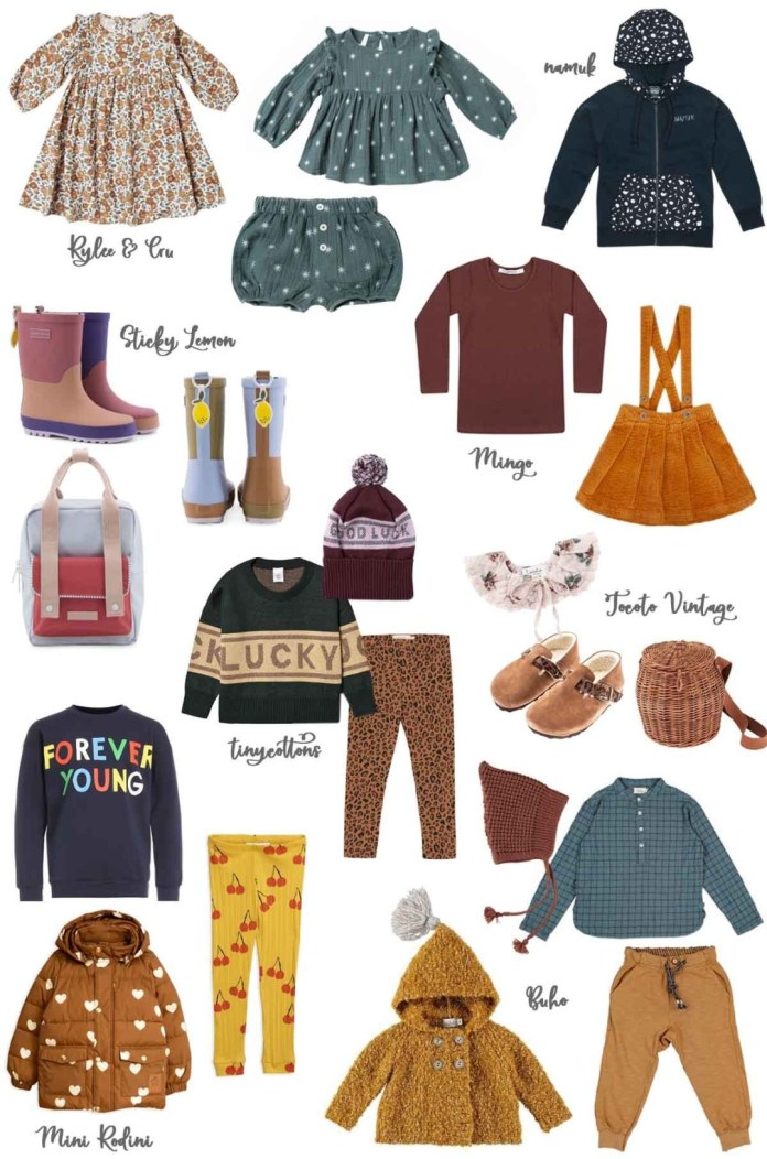 Autumn fashion for children from Stadtlandkind