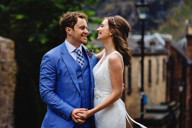 Fabulous Scottish Wedding conducted by Onie Tibbitt, Edinburgh Wedding Celebrant.