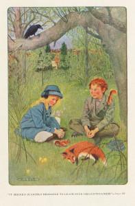 The secret garden Houghton_AC85_B9345_911s_-_Secret_Garden,_1911_-_frontispiece