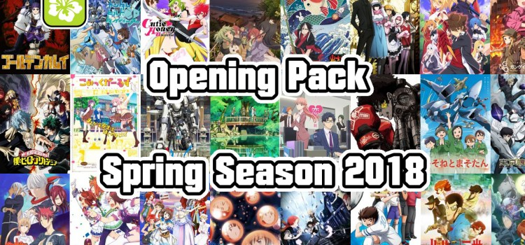 Pack Opening – Printemps 2018