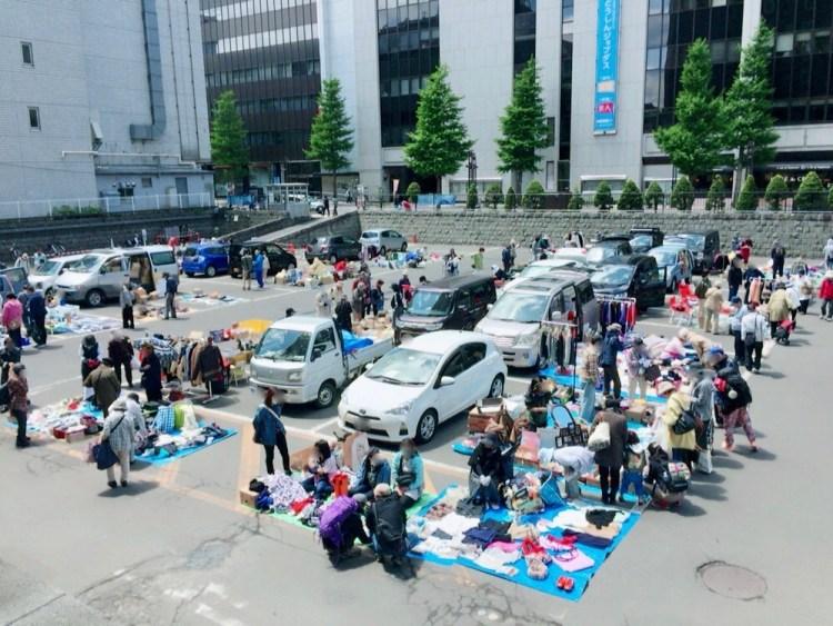 札幌市役所フリーマーケット