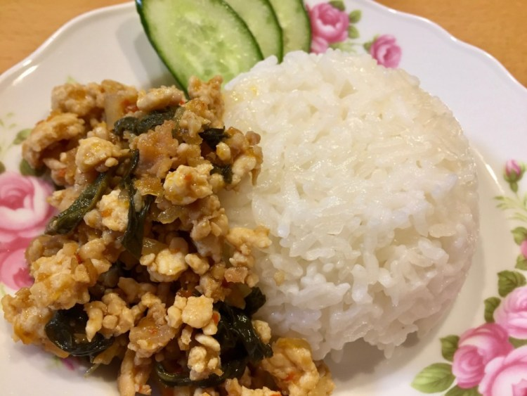 タイの台所 グリーンカレー ガパオ炒め ダイソー
