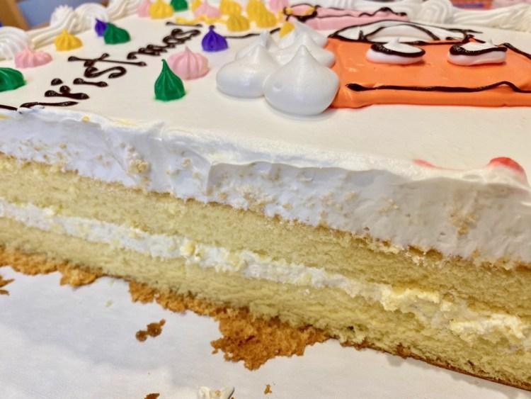 コストコ ハーフシートケーキ おつかれさまケーキ