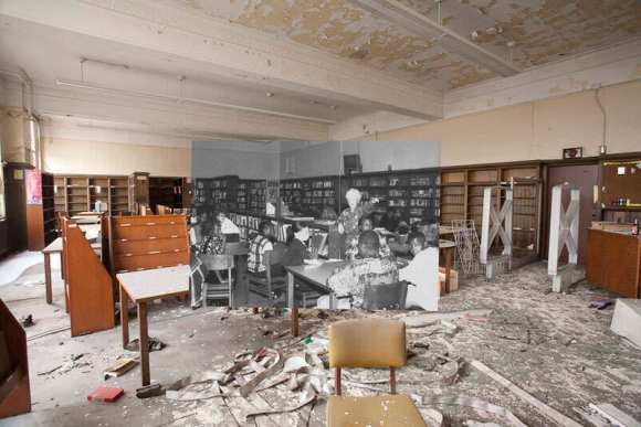 detroit-cass-tech-now-and-then-blended-photos-into-abandoned-school-building-detroit-urbex-13
