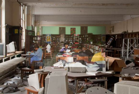 detroit-cass-tech-now-and-then-blended-photos-into-abandoned-school-building-detroit-urbex-2
