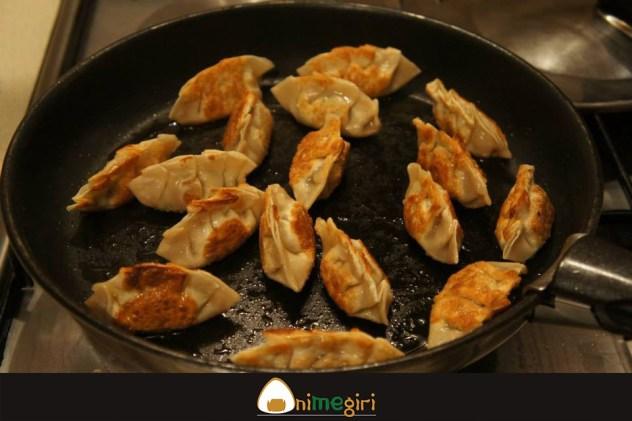 Gyozas au porc-chou chinois