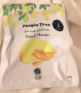 「People tree」のドライマンゴー