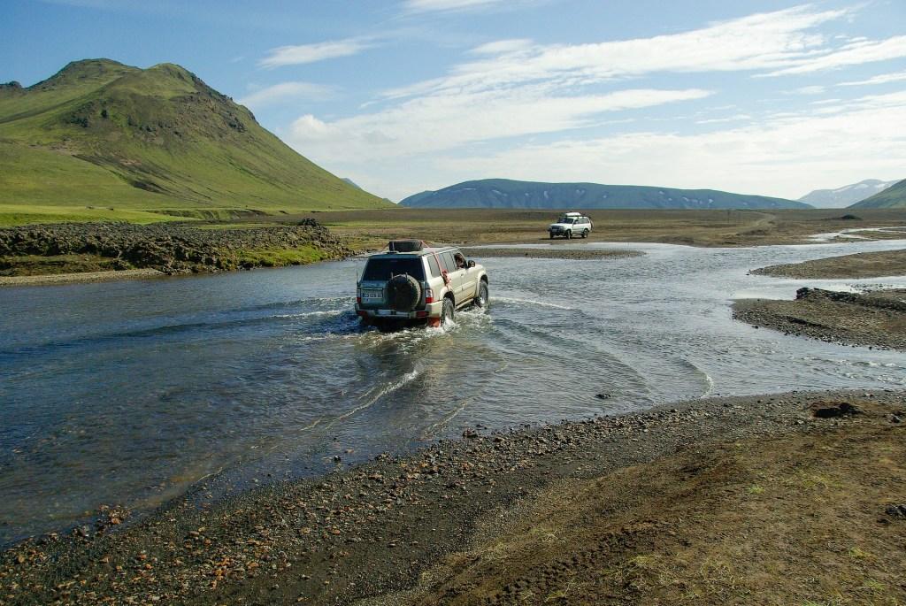 Les hautes terres en Islande