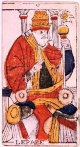 """Il Papa dei Tarocchi come ponte (""""pontifex"""") tra spirito e materia"""