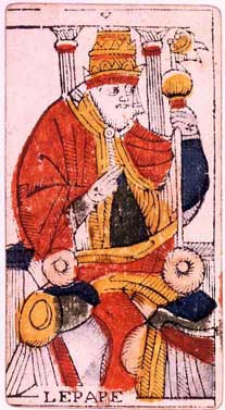 Pope Tarot card