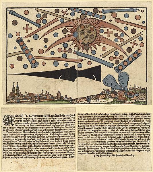 The celestial phenomenon of Nuremberg and UFO Dreams