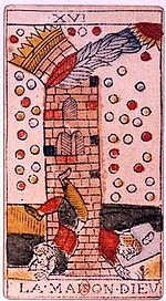 Tower Tarot card and dreams about arrows
