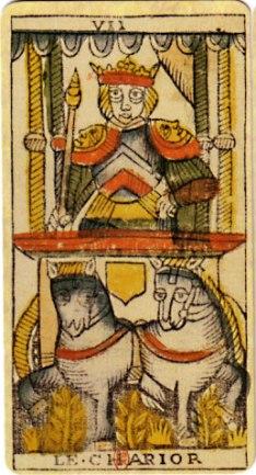 Jungian Animus in Tarot: the Chariot Tarot card