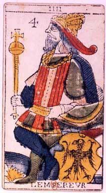 imperatore: le immagini maschili dei Tarocchi