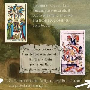 Caccia al tesoro tarologica: l'enigma della Ruota dei Tarocchi