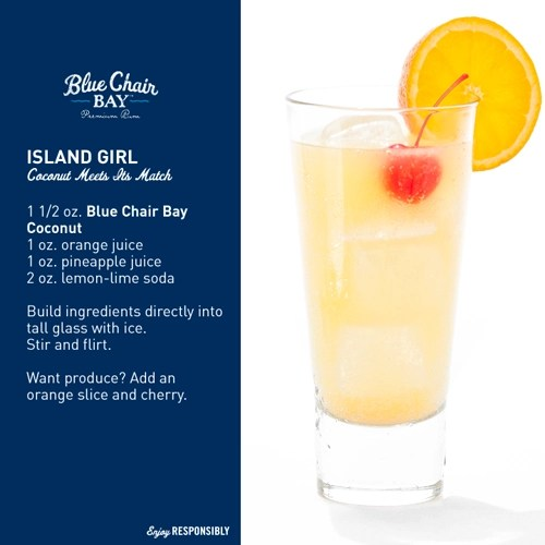 Blue Chair Bay Rum Drink Recipes  OnIsland Times US