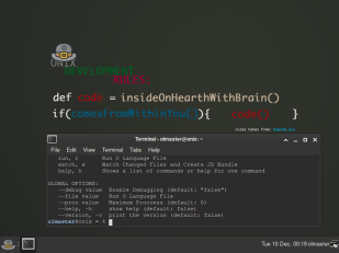 Onix XFCE desktop