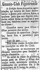 Notícia de 2/11/1917