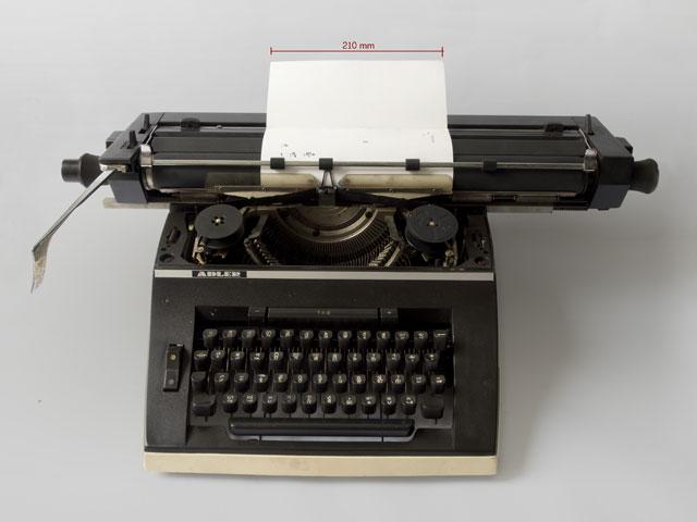 Adler Cambodian Typewriter