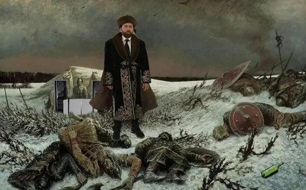 Николас Кейдж в казахском костюме 2