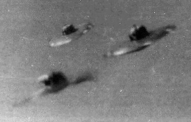 Летающие тарелки в небе над Старком, штат Мэн