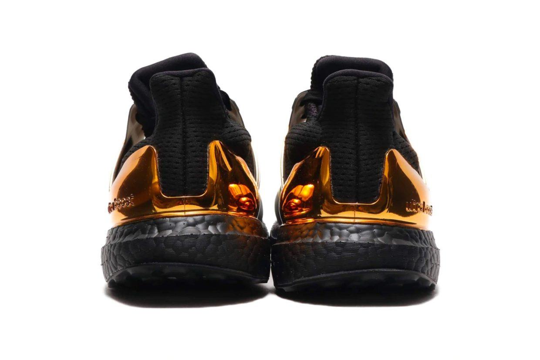 UltraBOOST adidas «Goldmet» золотом горят