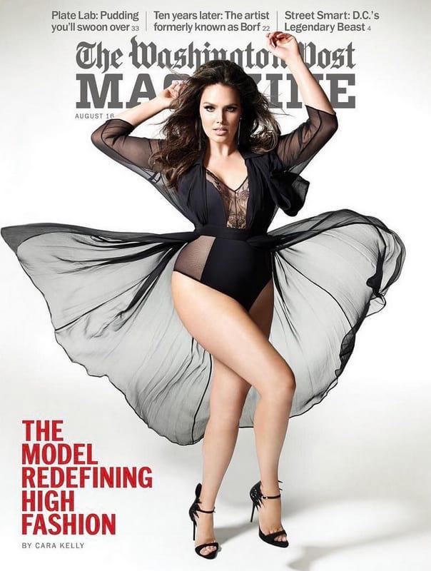 Кендис Хаффин не сходит с обложек модных журналов