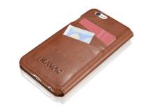 "iPhone 6 Case ""Dallas"" cognac SRP: $34 by KAVAJ"