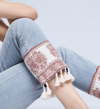 Pilcro Hyphen Mid-Rise Boyfriend Jeans $148.00 Anthropologie