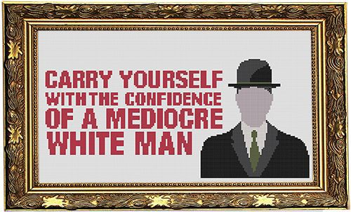 white+mediocrity