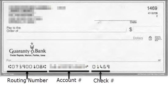 Guaranty Bank Routing Number And Wire Transfers