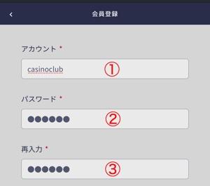ワンダーカジノ 登録方法