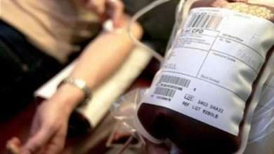 Blood donation can save someone's life