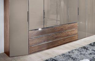 Nolte Horizont 10500 Eck Schrank samtbraun   Möbel Letz   Ihr Online Shop