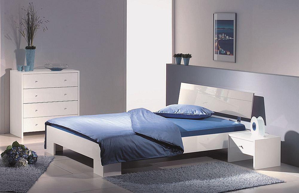 Wei Es Modernes Designer Bett - Boisholz